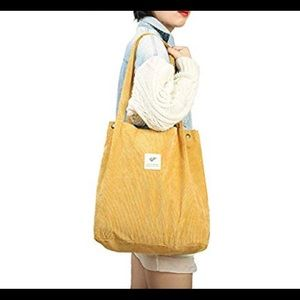 Tote Bag for Women Girls (Yellow)